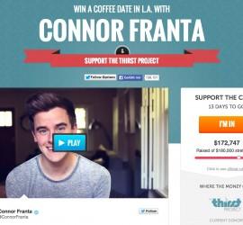 Connor Franta Spendenseite