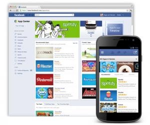 Facebook App Center - © Facebook