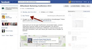 Ticketkauf als neues Feature von Facebook Events