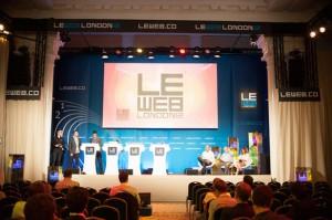 Die Le Web fand gestern (19.6.) und heute in London statt. (c) LeWeb.co